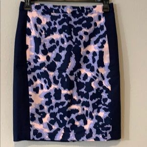 Club Monaco Animal Print skirt